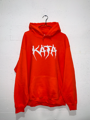 Reaper Hoodie - Orange/Glow in The Dark