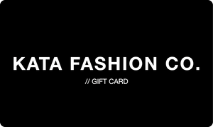 Gift Card // Kata Fashion Co