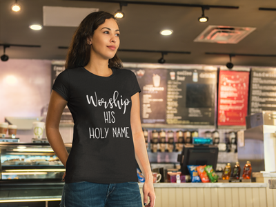 The Worship His Holy Name Tee