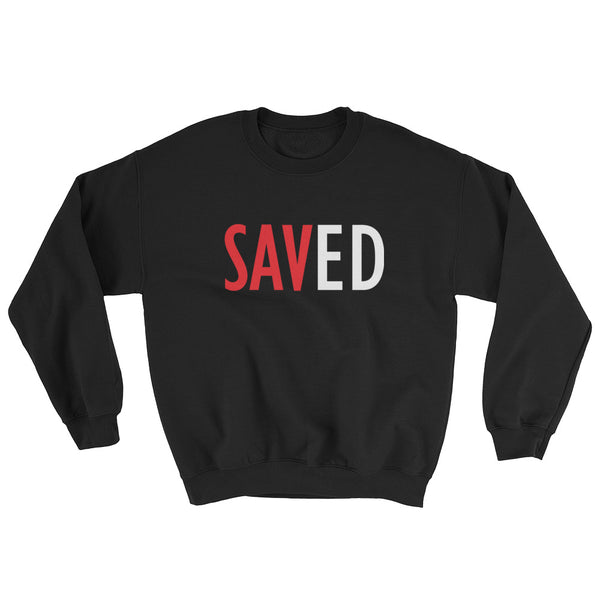 """Saved"" Crewneck Sweatshirt - Called to Edify Boutique"