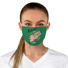 Unisex Fabric Face Mask -- Rawr!