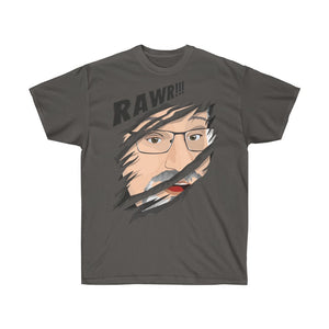Euro Version, Unisex Ultra Cotton Tee -- Rawr!