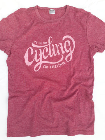 Cycling is the cure for everything - Premium T
