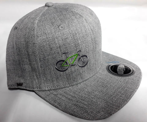 Bicycle Addict fitted Snap Back cap