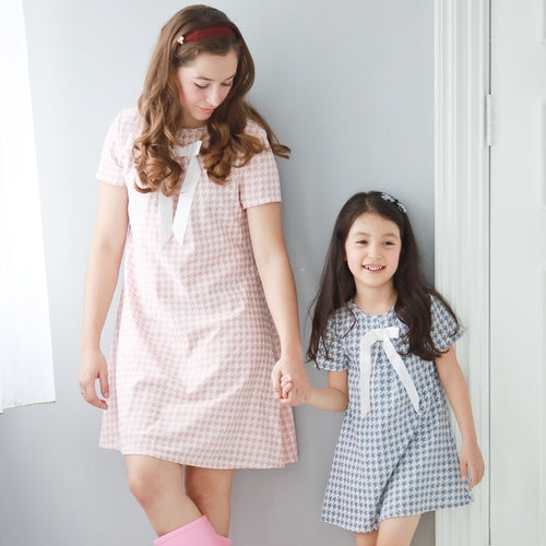 Mother & Daughter Matching Dress : Houndstooth