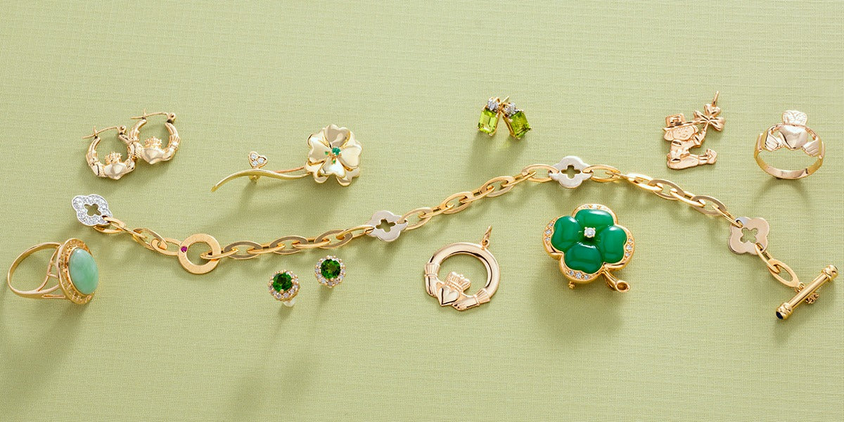 St. Patrick's Day Estate Jewelry Fit For a Pot of Gold