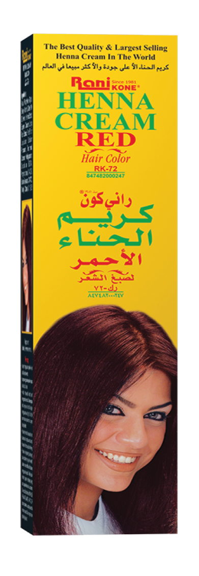 Rani Henna Cream RED Hair Color 50gram [3pcs]