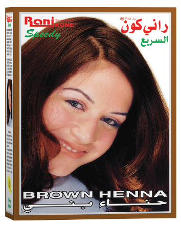 Rani Speedy Brown Henna RK-102 (Hair Color) 10+8gram [3pcs]