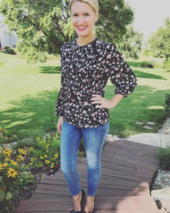 Dolly Ditsy Floral Top