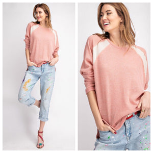 Blair Color Blocked Sweater