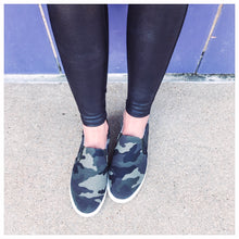 Camo Pull-On Sneakers
