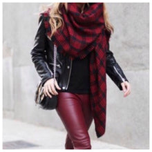 Back To School Girl Plaid Scarf
