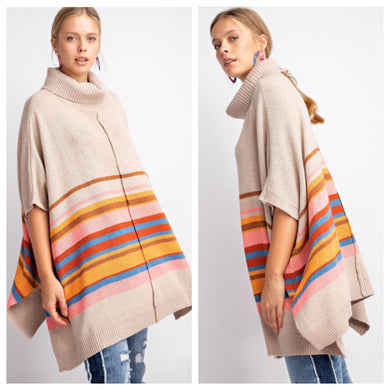 Arizona Dreams Sweater Poncho