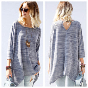 Selma Striped Tunic