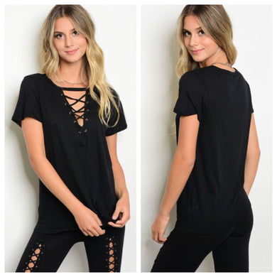 ***ON SALE*** Bethany Criss-Cross Tee