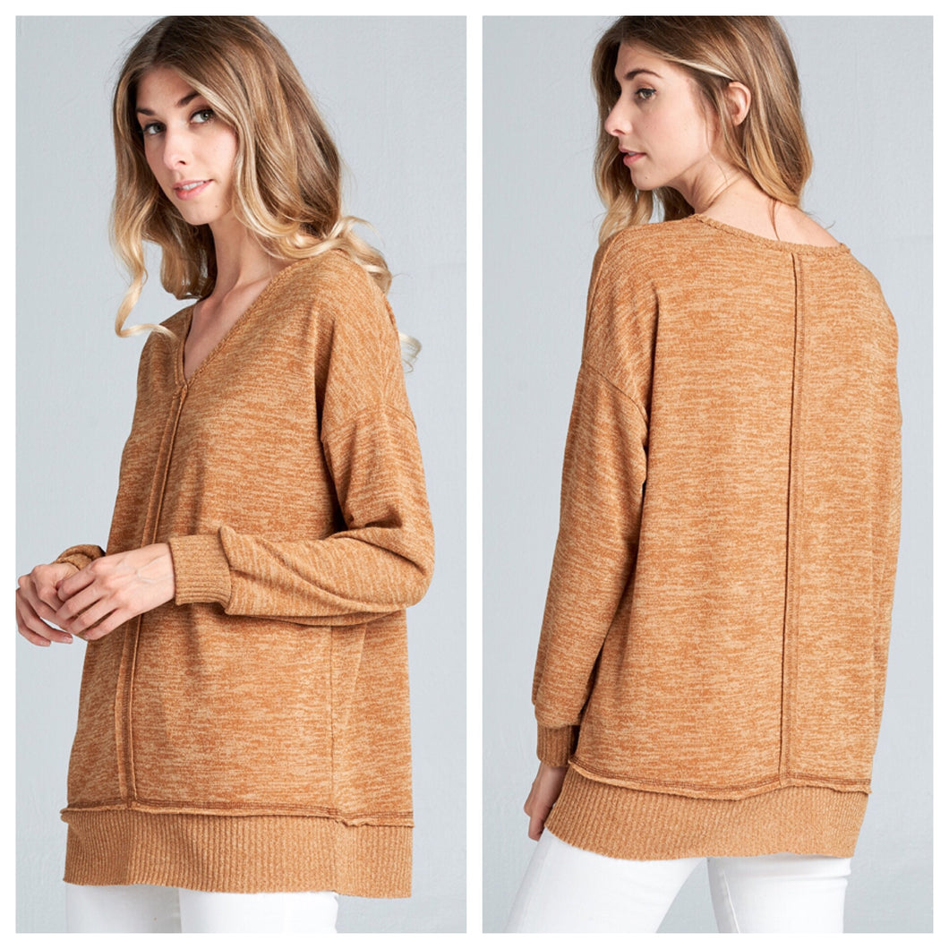 Lauren Seamed Sweater