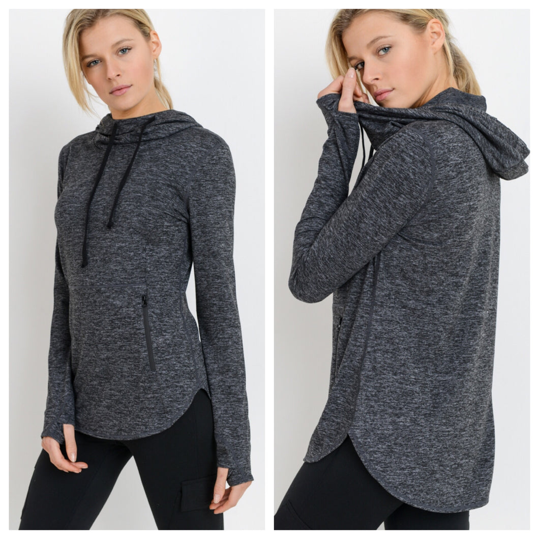 Marle Performance Hooded Pullover