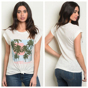 California Palm Tee