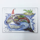 Orca Holiday Boxed Card Set (8)