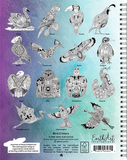 Bird Critters Coloring Book