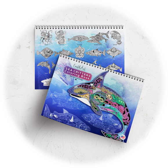 Sea Critters Coloring Book