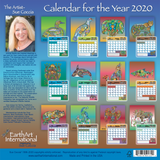 2020 Calendar w/ Coloring Pages