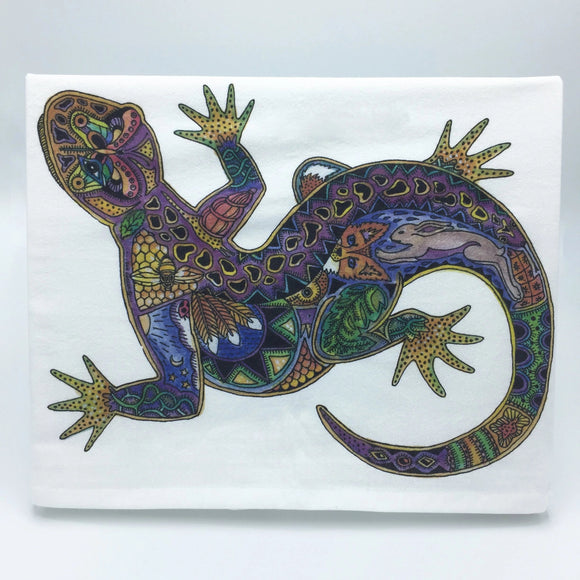 Lizard Flour Sack Towel