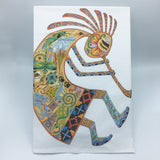 Kokopelli Flour Sack Towel