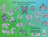 20th Anniversary Critters Coloring Book