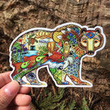 Grizzly Bear Sticker