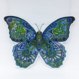 Blue Morpho Butterfly Vinyl Sticker