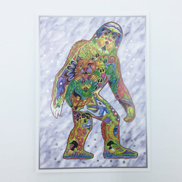Sasquatch Holiday Boxed Card Set (8)