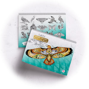 Winged Critters Coloring Book