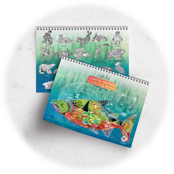 Coastal Critters Coloring Book
