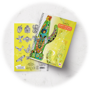 Desert Critters Coloring Book