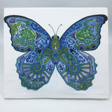 Blue Morpho Butterfly Flour Sack Towel