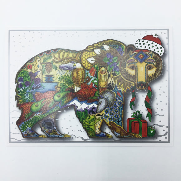Grizzly Holiday Card