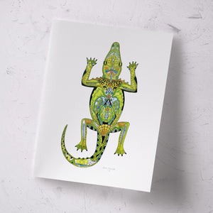 Alligator Signed Print