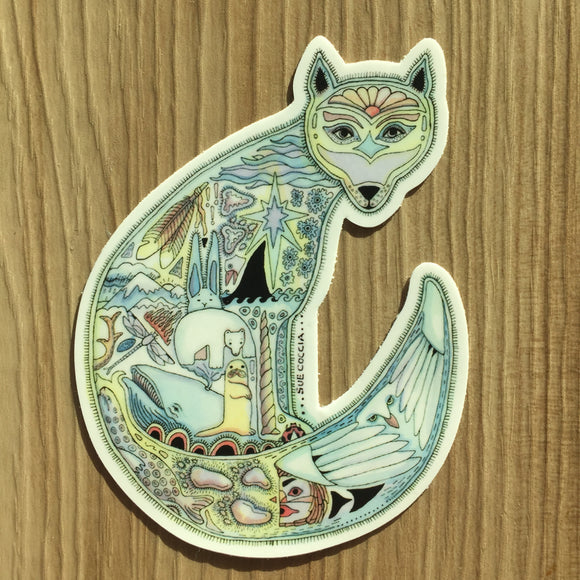Artic Fox Sticker