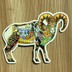 Bighorn Sheep Sticker