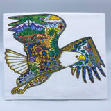 Bald Eagle Flour Sack Towel