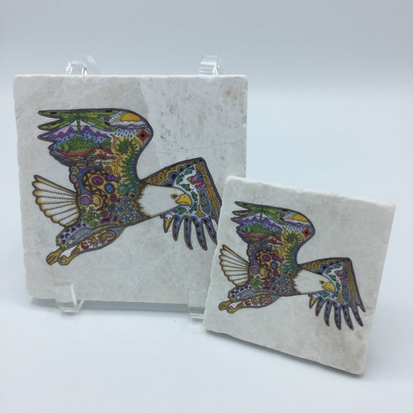 Bald Eagle Coasters and Trivets
