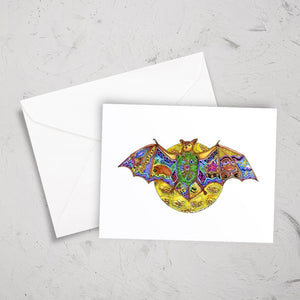 Bat Note Card