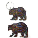 Bear Magnets and Keychains