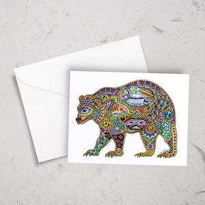 Bear Note Card