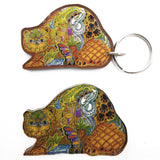 Beaver Magnets and Keychains