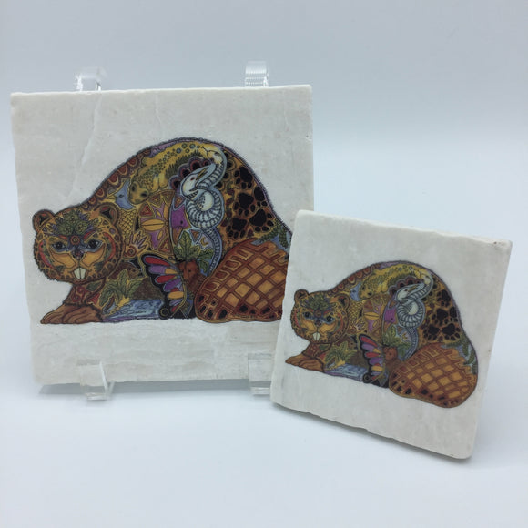 Beaver Coasters and Trivets