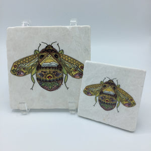 Bee Coasters and Trivets