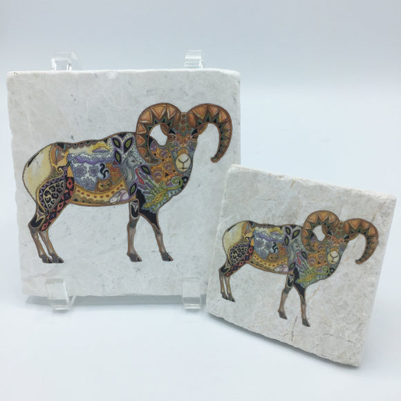 Big Horn Sheep Coasters and Trivets