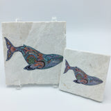 Blue Whale Coasters and Trivets
